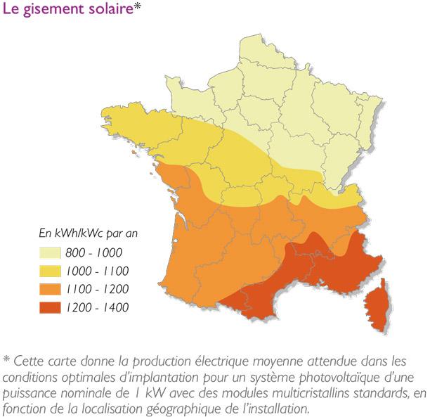 produire électricité énergie solaire photovoltaïque