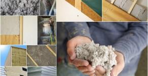 L'isolation thermique des murs de la maison